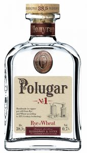 Vodka N°1 Rye & Wheat Polugar