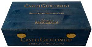 Cassa Legno 2 bt. Vuota Originale Castel Giocondo Frescobaldi