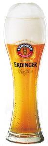 6 Bicchieri Birra  Weizen da 0,5 litri  Erdinger Weissbier