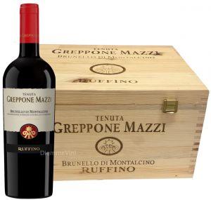 Cassa 6 Bt. Brunello di Montalcino Greppone Mazzi Docg 2013 Ruffino