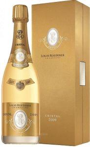 Champagne Cristal Bianco Aoc 2009 Con Astuccio Louis Roederer