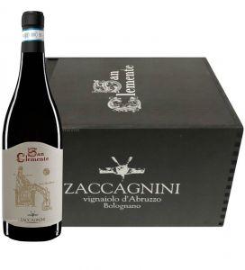Cassa Legno 6 Bt. San Clemente Montepulciano d'Abruzzo Riserva Doc 2016 Zaccagnini