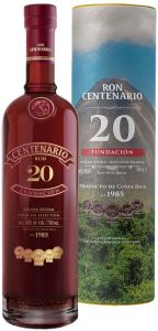 Rum Centenario Fundacion 20 Anni Riserva Canister Centenario Ron