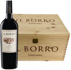 Cassa 6 Bottiglie Il Borro Toscana Rosso Bio Igt 2017 Il Borro