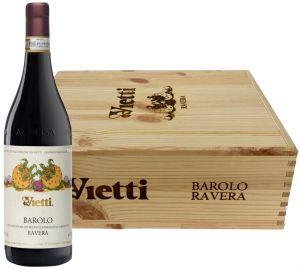 Cassa 3 Bottiglie Ravera Barolo Docg 2014 Vietti