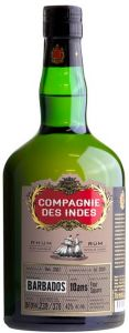 Rum Barbados 10 anni Single Cask Compagnie Des Indes