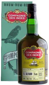 Rum El Salvador 9 Anni Single Cask Compagnie Des Indes