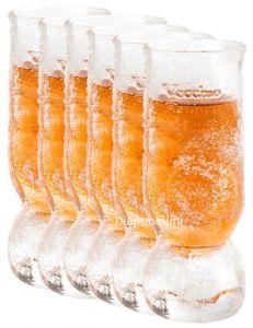 6 bicchierini da freezer Amaro del Capo