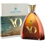 Cognac XO Gold & Blue Decanter Gautier