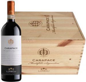 Cassa Legno 6 Bt. Carapace Montefalco Sagrantino Docg 2015 Tenute Lunelli