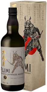 Fujimi whisky Blended Japanese 7 Virtues of Samurai