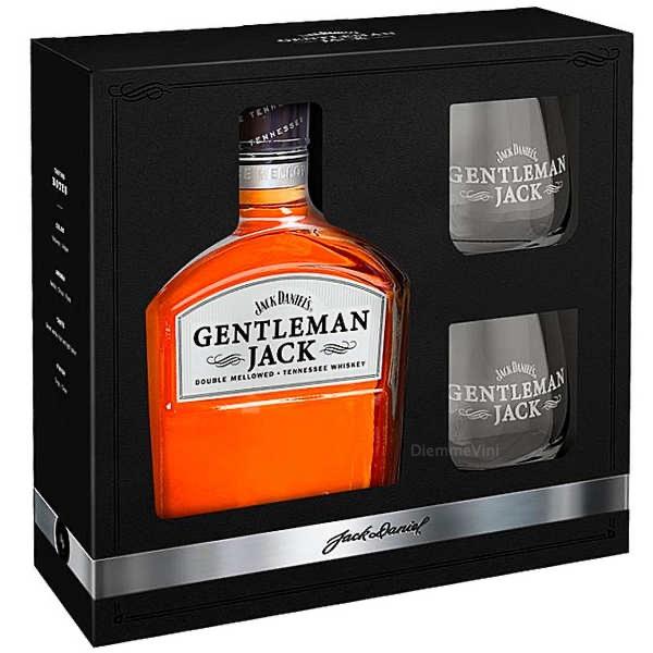 Whisky Gentleman con 2 bicchieri Degustazione Jack Daniel's