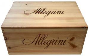 Cassa Legno Vuota per 6 bt. Originale Allegrini