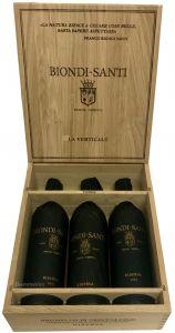 La Verticale Brunello Montalcino Docg Riserva 1995-2006-2011 Biondi Santi