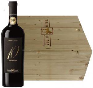 Cassa Legno 6 Bt. 10 Vendemmie Montepulciano d'Abruzzo Tenuta Ulisse
