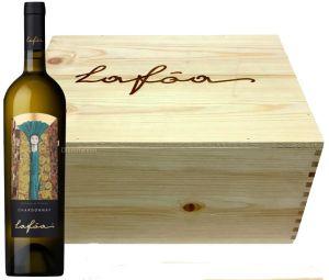 Cassa Legno 6 Bottiglie Lafòa Chardonnay Doc 2018 Colterenzio