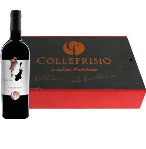Cassetta Legno 6 bt. Montepulciano d'Abruzzo In & Out  Doc 2014  Collefrisio
