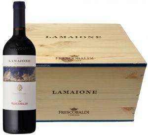 Cassa legno 6 Bt. Lamaione Castelgiocondo Toscana Igt. 2015 Frescobaldi