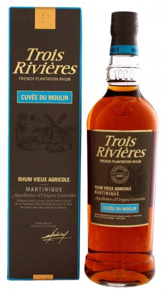 Rhum Vieux Agricole Cuvée du Moulin Trois Rivieres