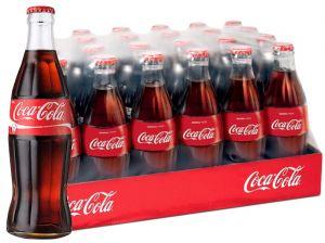 Confezione 24 Bottiglie Vetro cl. 33 Coca Cola