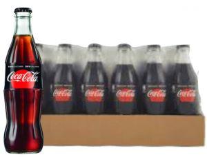 Confezione 24 Bottiglie Vetro cl. 33 Coca Cola Zero