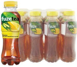 Confezione 12 Bottiglie cl. 40 Fuzetea Limone e Lemongrass