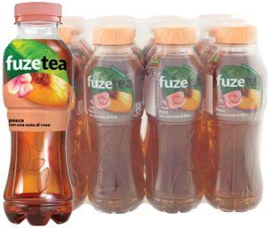 Confezione 12 Bottiglie cl. 40 Fuzetea Pesca e Rosa