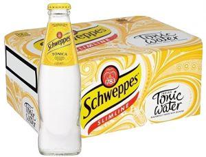 Confezione 24 Bottiglie Vetro cl. 18 Schweppes Tonica