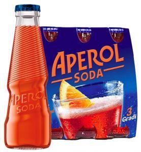 Confezione 48 Bottiglie Vetro cl. 12,5 Aperol Soda