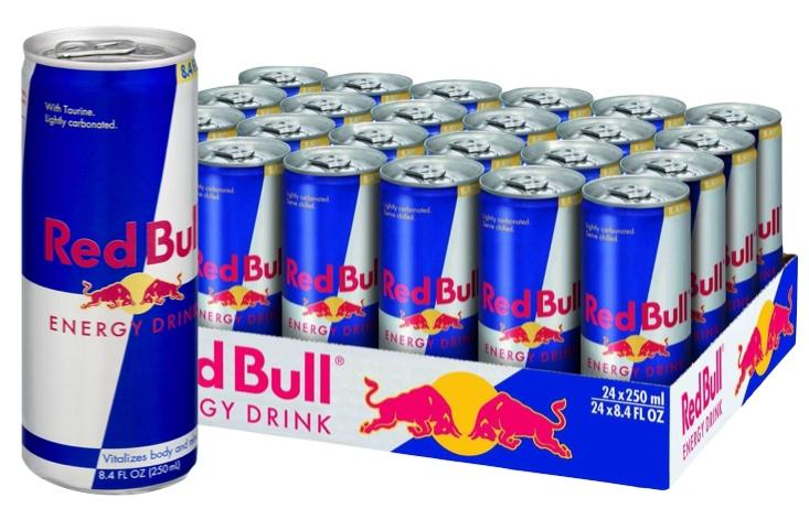 Redbull confezione risparmio da 24 lattine 250 ml