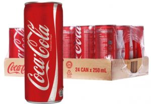 Confezione 24 Lattine Can Flash cl. 25 Coca Cola