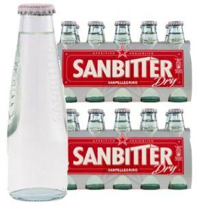 Confezione 20 Bottiglie Vetro cl.10 San Bitter Bianco