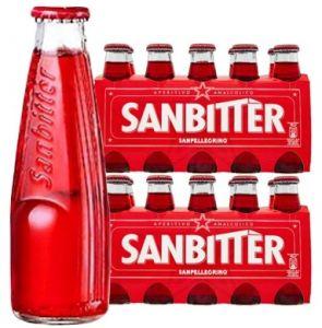 Confezione 20 Bottiglie Vetro cl.10 San Bitter Rosso
