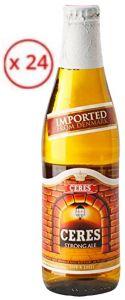 Confezione 24 Bottiglie Vetro cl. 33 Birra Strong Ale Ceres