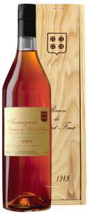 Armagnac Millésime 1989 Baron de Saint Feux