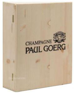 Cassa Legno Vuota Usata Originale Champagne Paul Goerg
