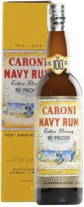 Caroni Navy Rum Extra Strong 90° Proof Trinidad Centenario