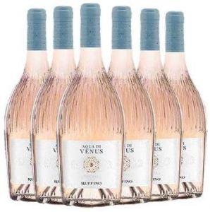 6 Bottiglie Rosato Aqua di Venus Toscana Igt 2019 Ruffino