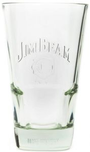 6 Bicchieri Vetro Whisky Jim Beam