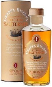 Grappa Riserva Botti di Sauternes Sibona Distillerie