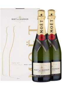 Champagne Confezione 2 Bottiglie Brut Moet & Chandon