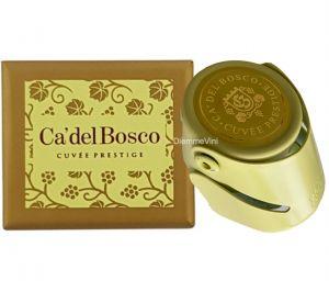 Salva bollicine Stopper Acciaio colorato con Astuccio Cà Del Bosco