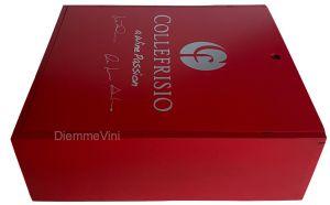 Cassa Legno 3 Bt. Vuota Nuova Rossa Collefrisio