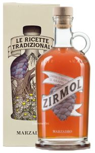 Zirmol Liquore di Cirmolo con Grappa Marzadro