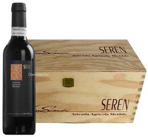 Cassa Legno 6 Bottigloe Moscato Passito 2007 Seren