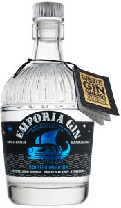 Emporia Premium Dry Gin all'acqua del Mar Tirreno