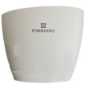Secchiello Acrilico Bucket Ovale Bianco Firriato