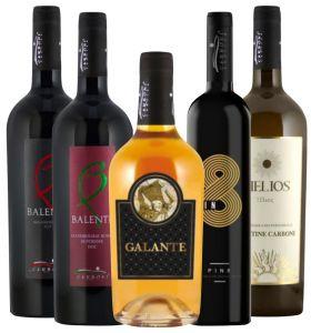 Offerta 5 Bottiglie Degustazione Cantine Carboni