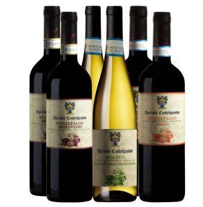 Offerta 6 bottiglie Degustazione Castelgrosso