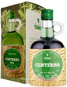 Centerba D'Abruzzo Bottiglia con Occhiello Astuccio Enrico Toro